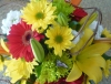 Bright Bouquet in a 'Bucket'